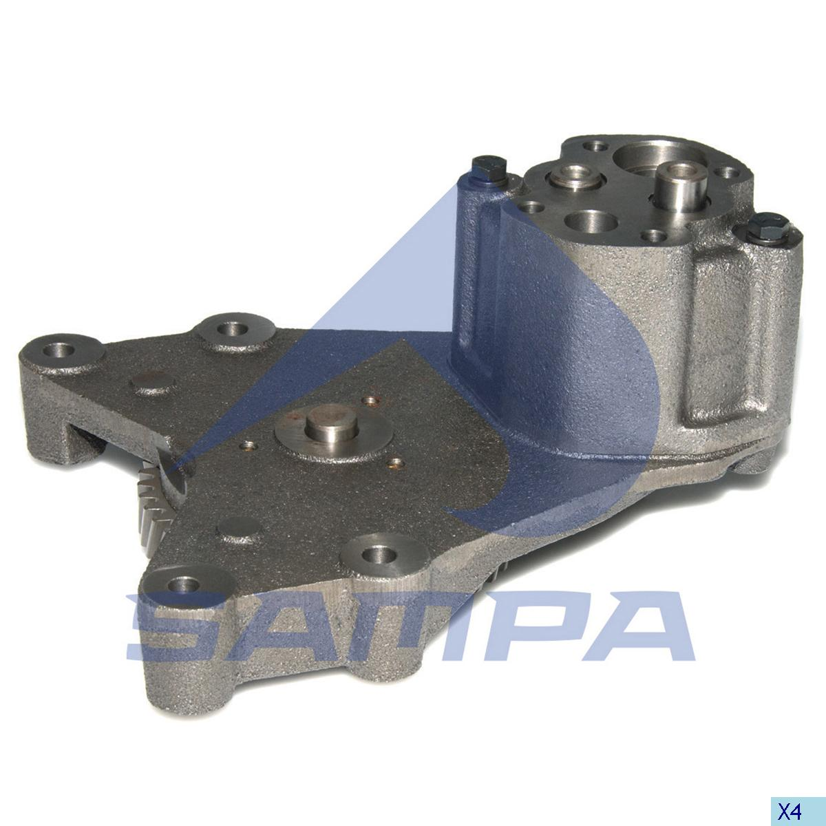 Oil Pump, Volvo, Engine