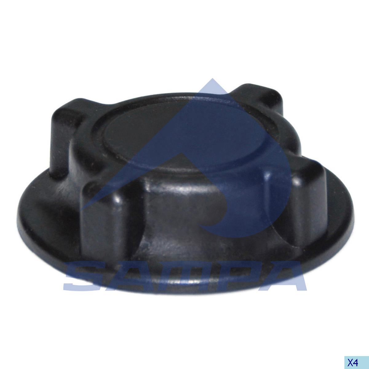 Expansion Tank Cap, Radiator, Volvo, Engine