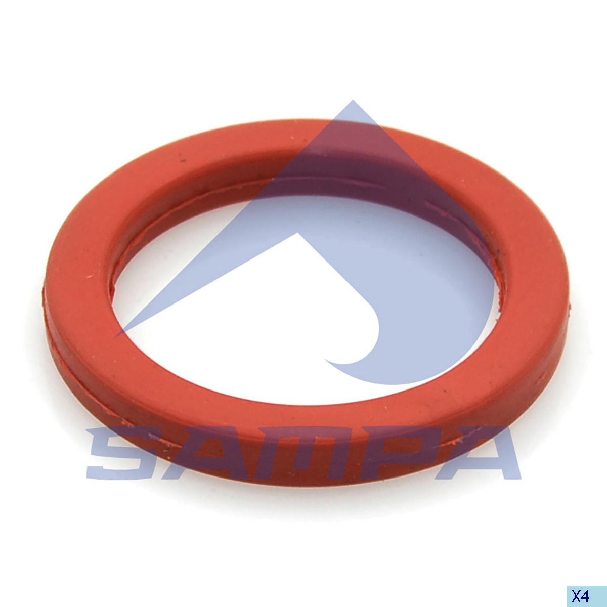 Seal Ring, Oil Sump, Volvo, Engine
