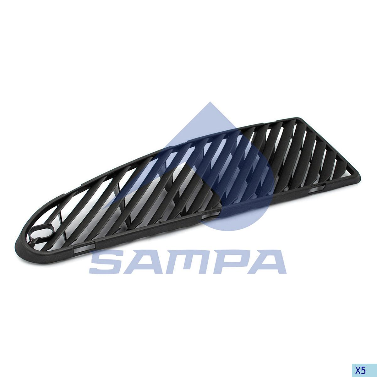 Grille, Air Filter, Volvo, Engine