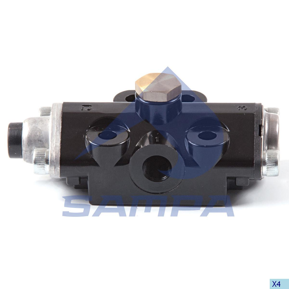 Relay Valve, Volvo, Compressed Air System