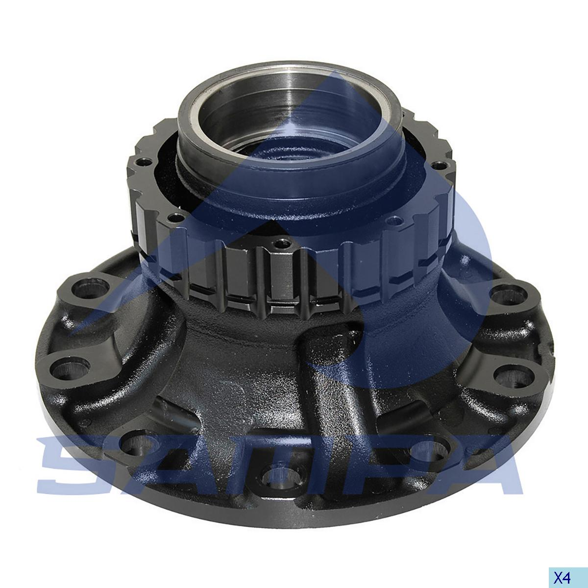 Wheel Hub, R.V.I., Power Unit