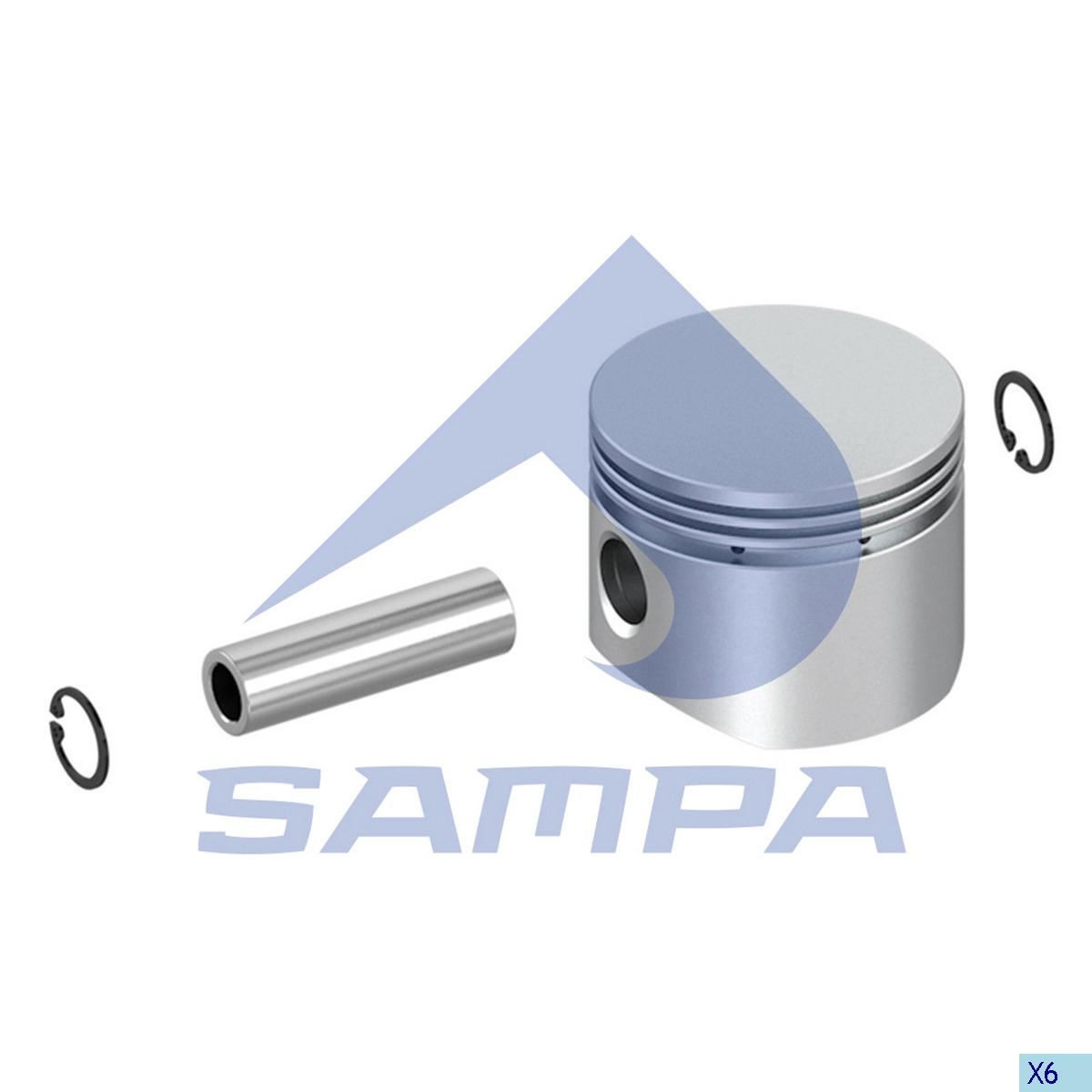Piston, Daf, Compressed Air System