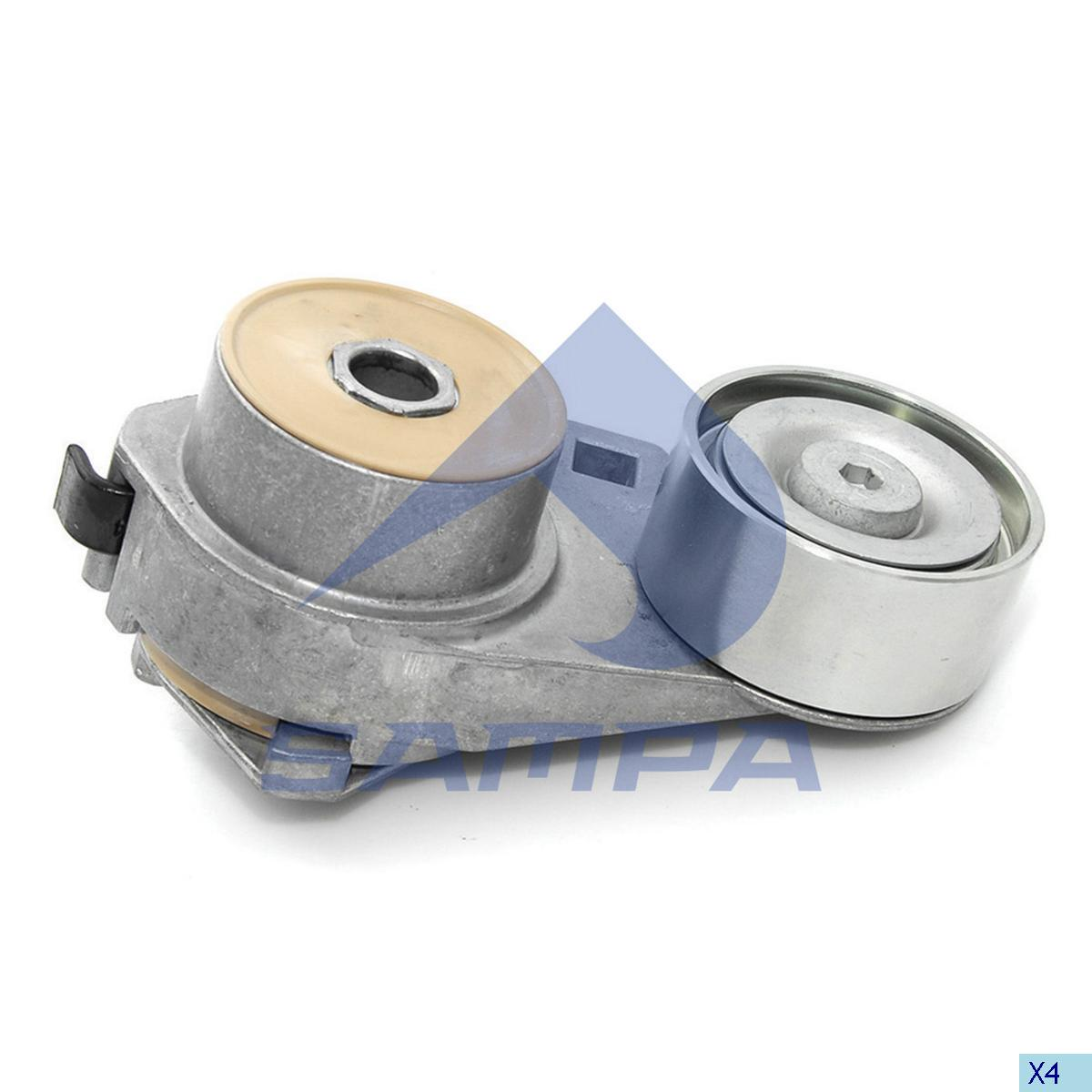 Belt Tensioner, Fan, Volvo, Engine
