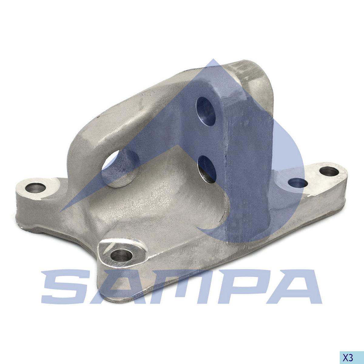 Bracket, Engine, Volvo, Engine