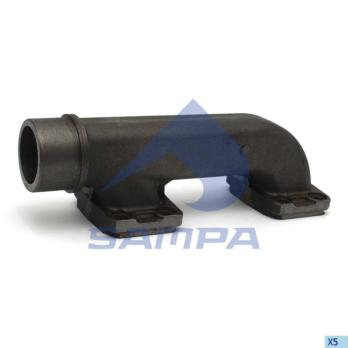 Exhaust Manifold, Volvo, Engine