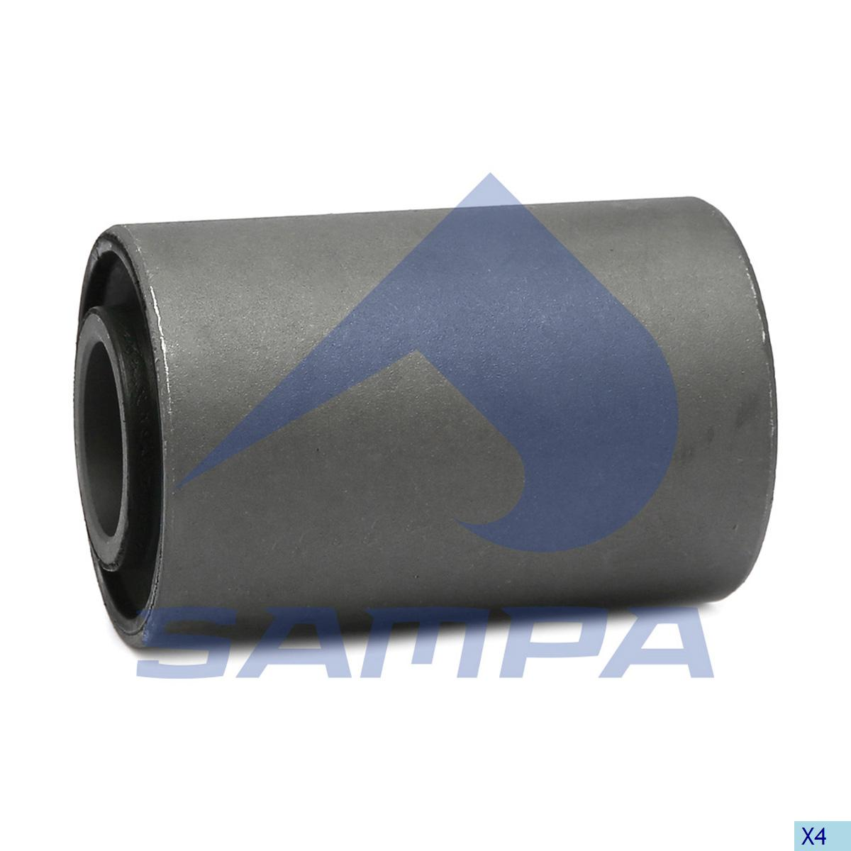 Rubber Bushing, Spring, Kassbohrer, Suspension