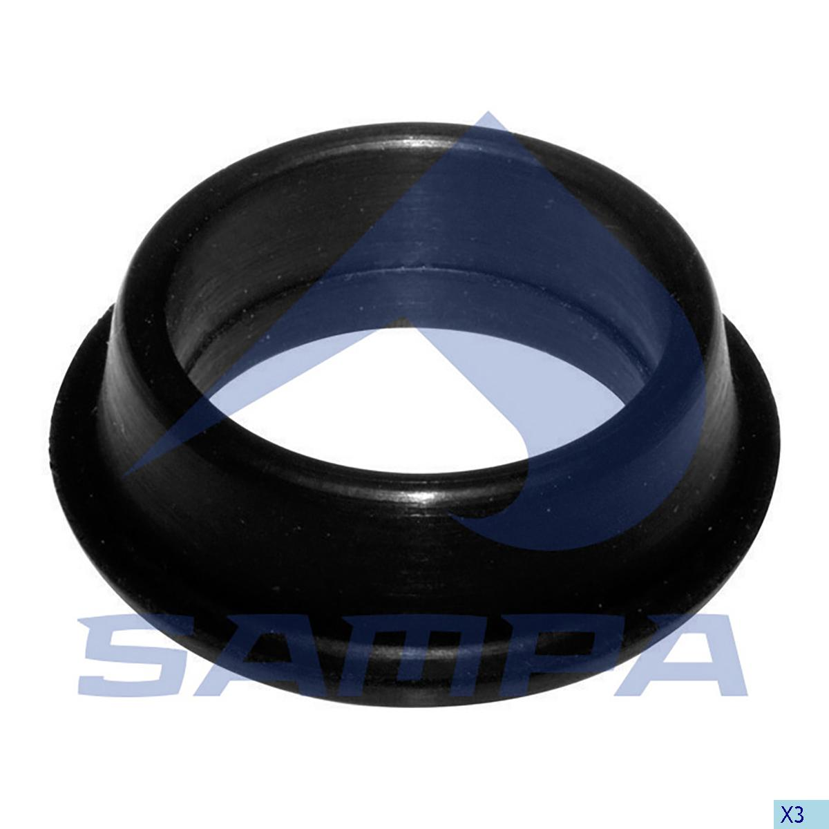 Rubber Bushing, Cab Tilt, Scania, Cab