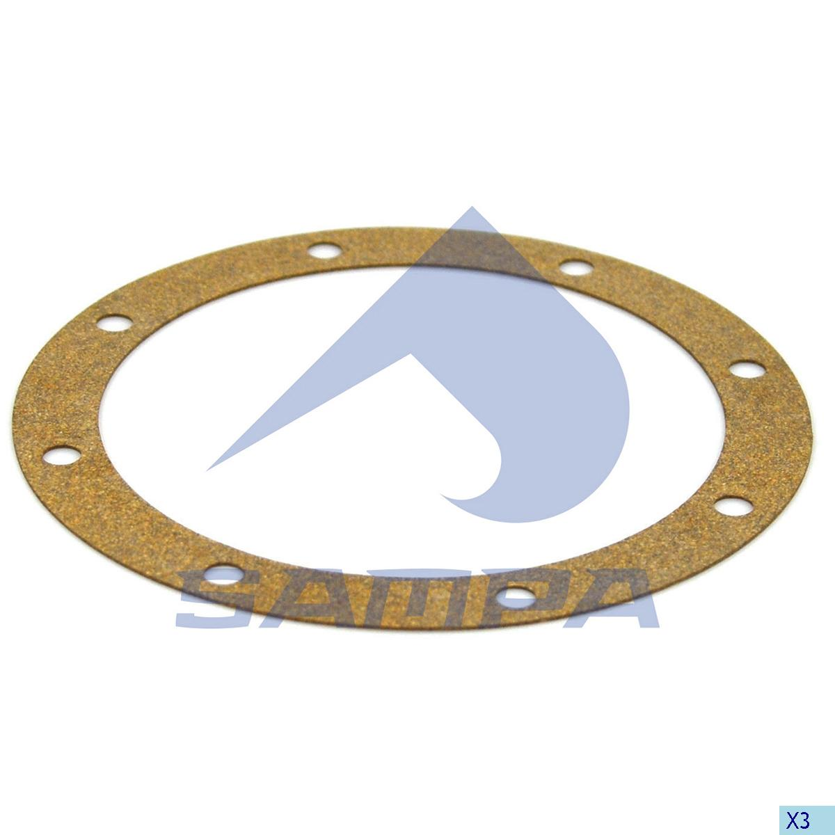 Gasket, Bogie Suspension, Scania, Suspension
