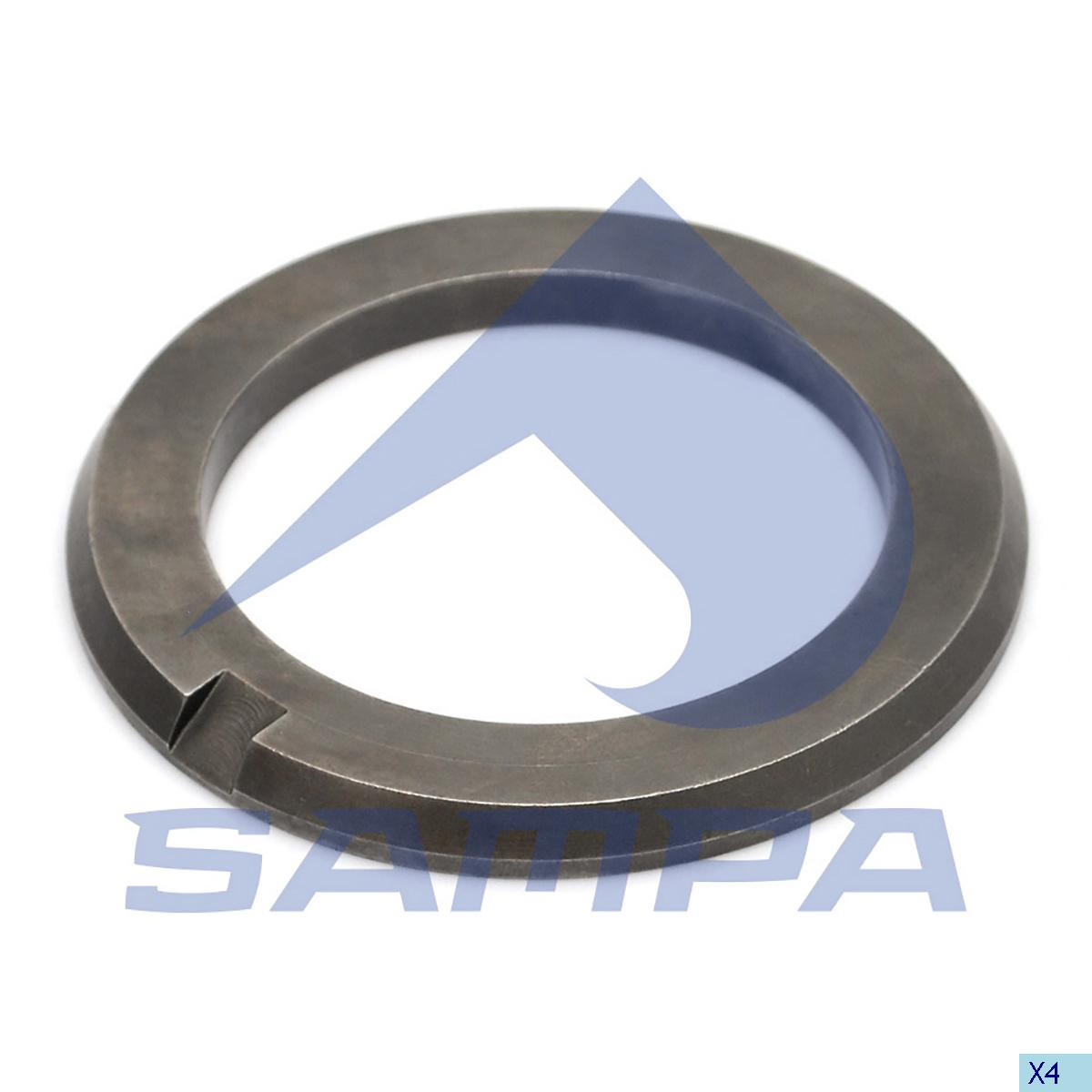 Thrust Washer, Bogie Suspension, Scania, Suspension