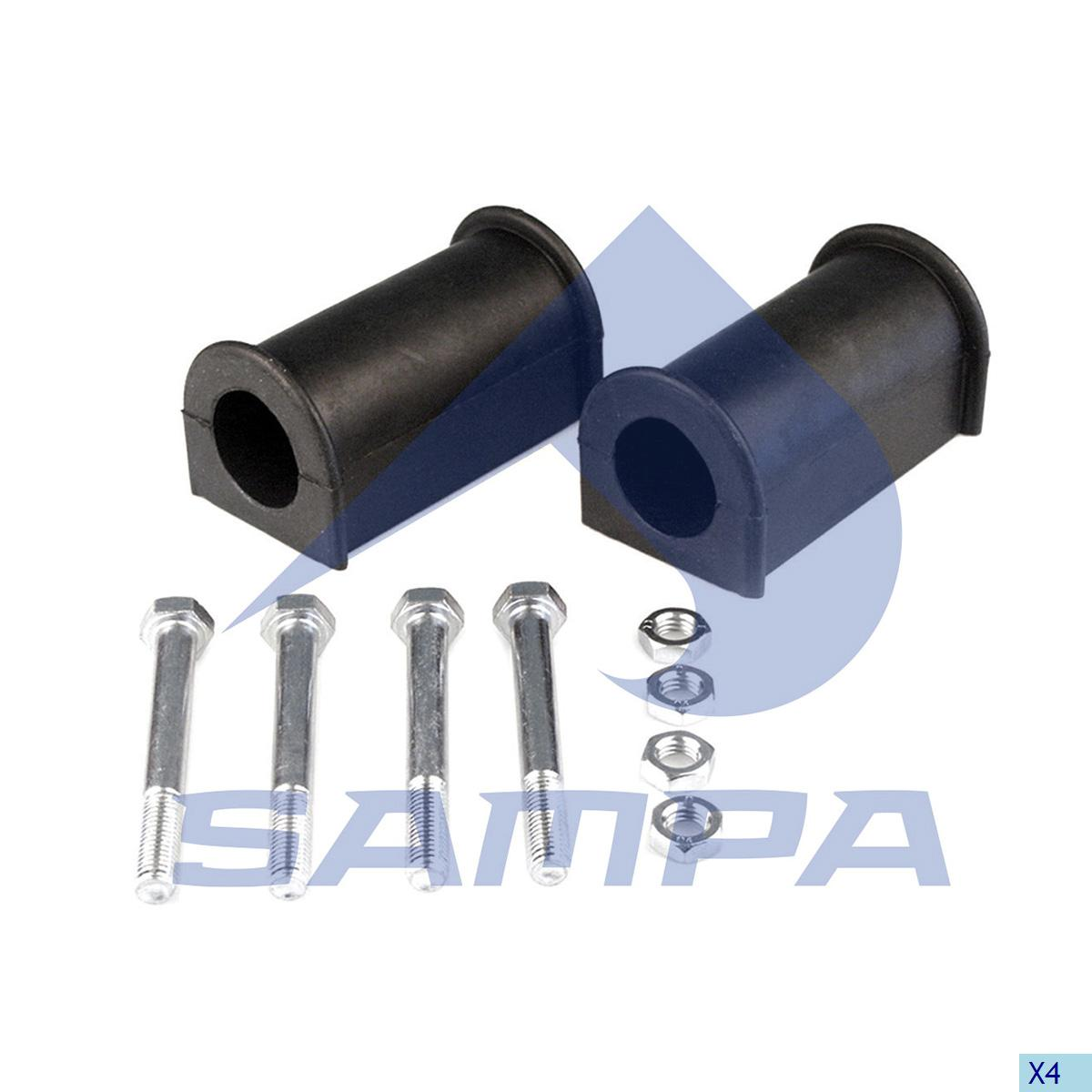 Repair Kit, Stabilizer Bar, Scania, Suspension