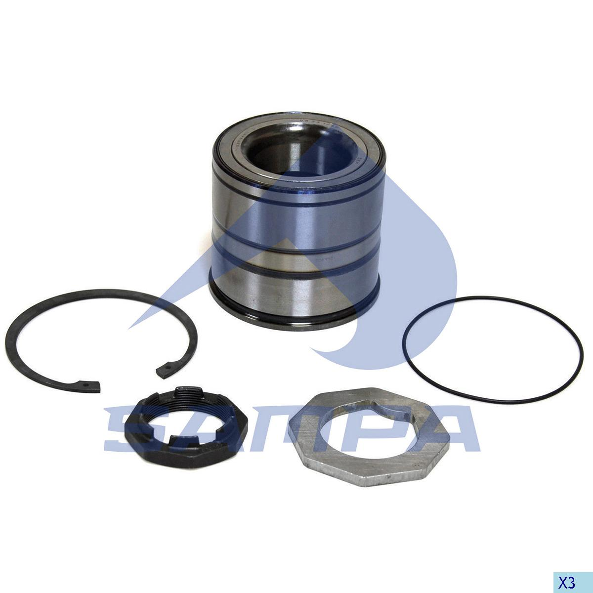 Repair Kit, Wheel Hub, Scania, Power Unit