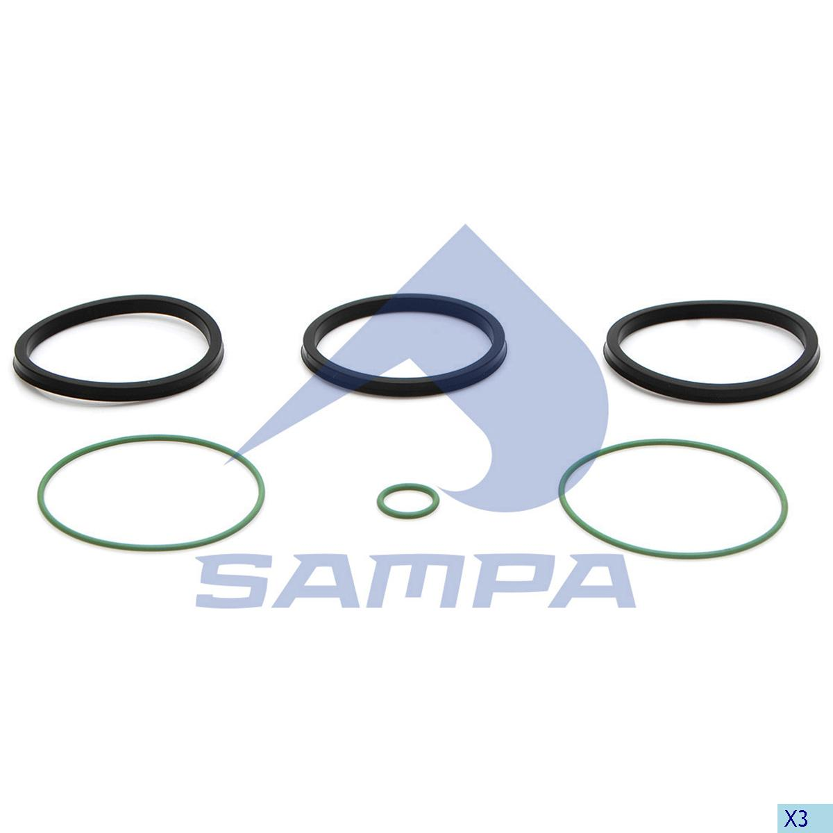 Gasket Kit, Retarder, Scania, Gear Box