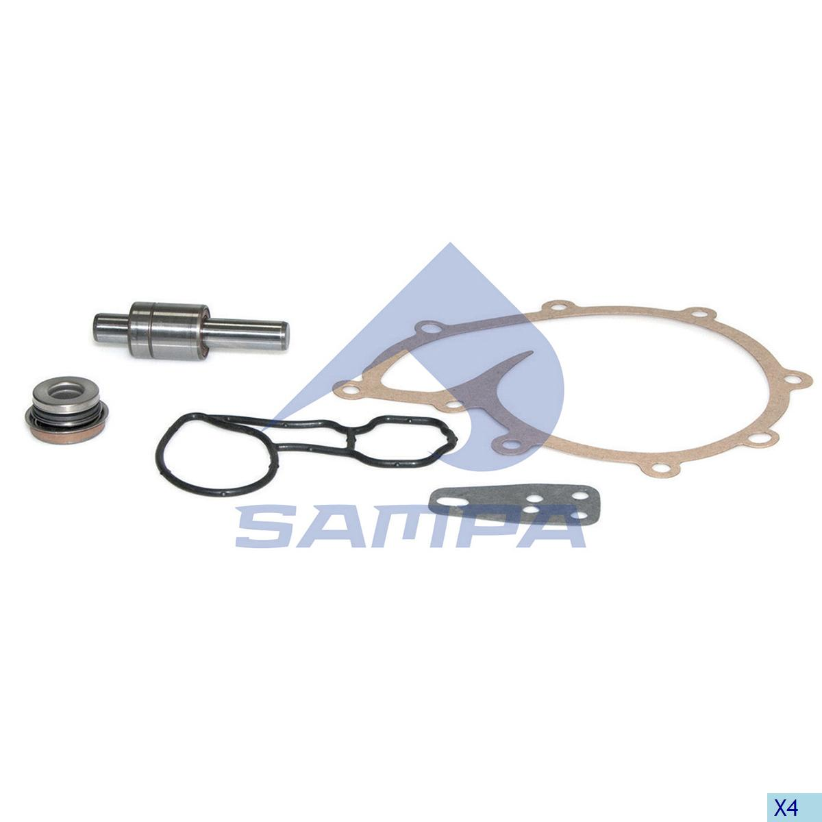 Repair Kit, Water Pump, Scania, Engine
