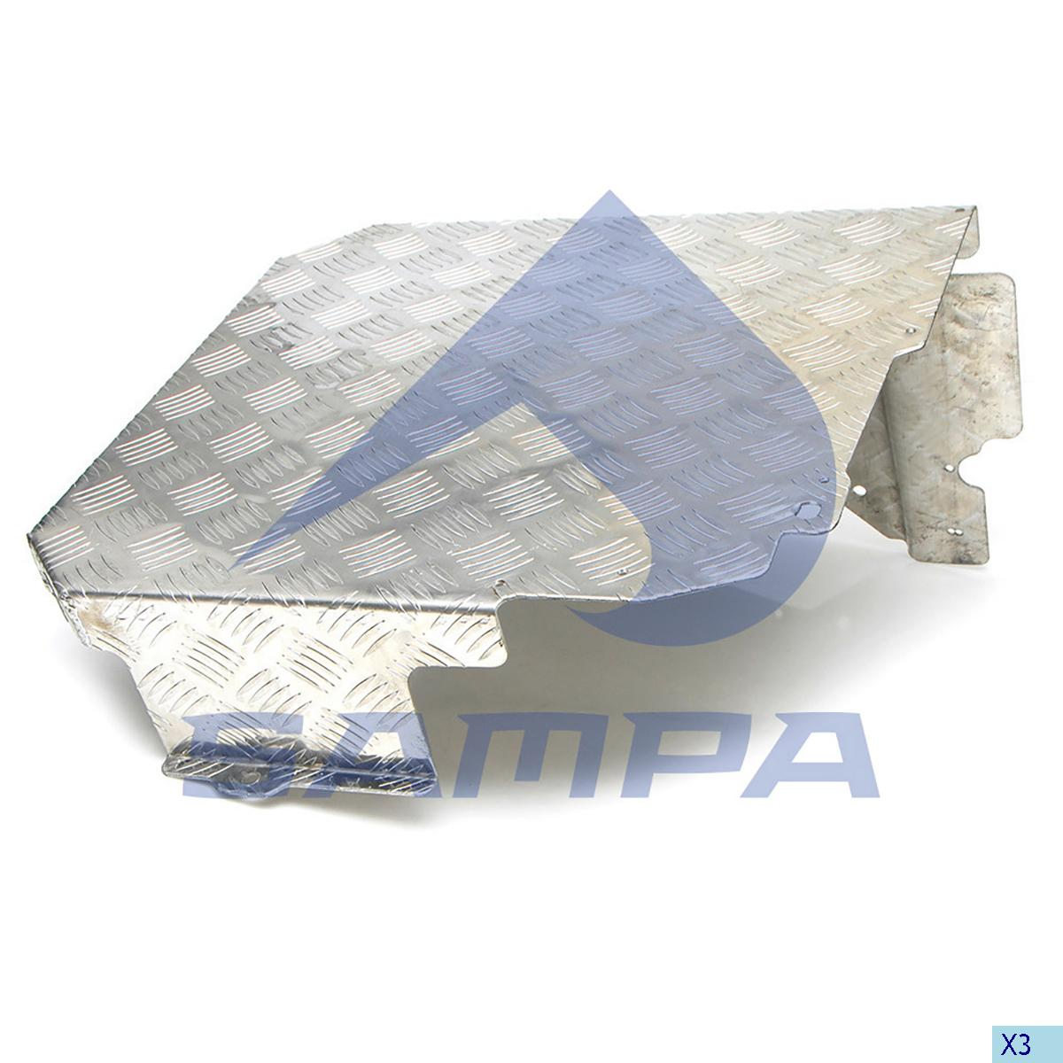 Heat Shield, Exhaust, Scania, Engine