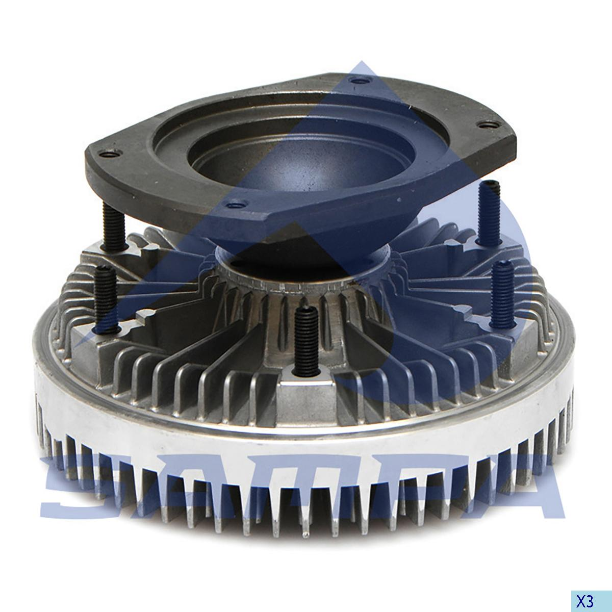Visco Drive, Fan, Scania, Engine
