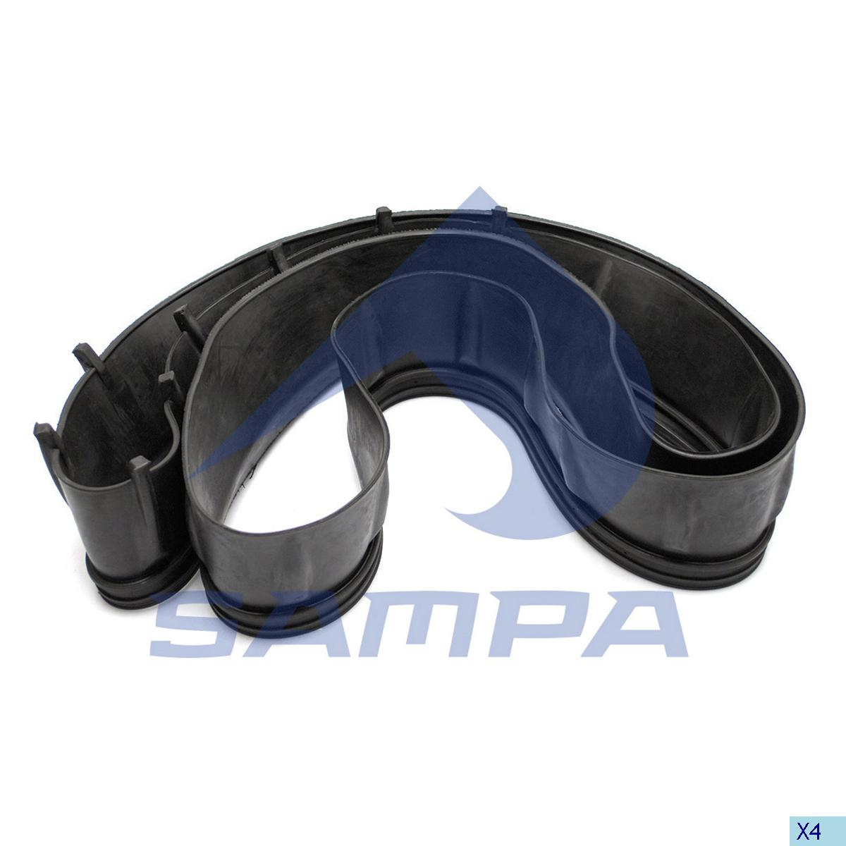 Rubber Ring, Fan, Scania, Engine