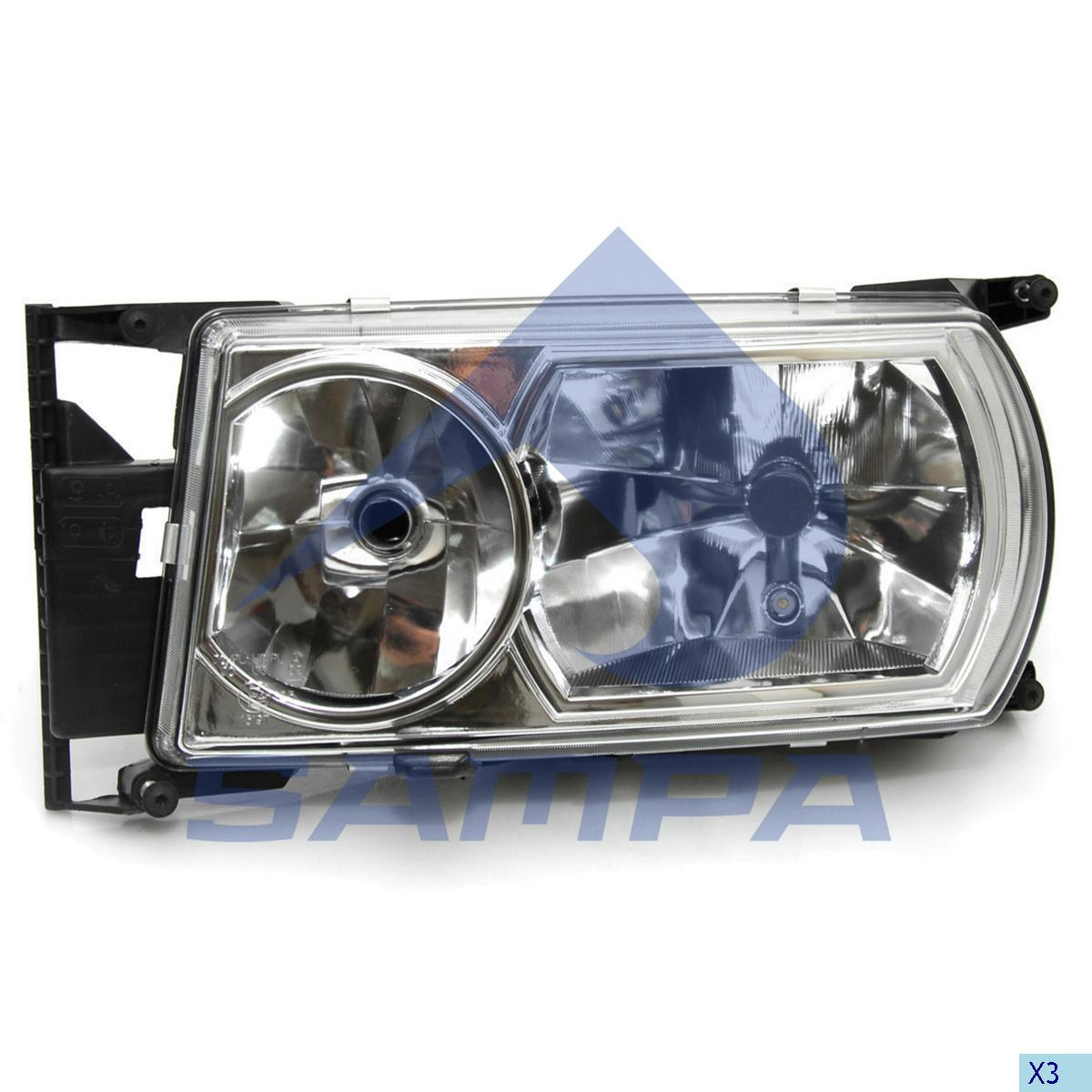 Head Lamp, Scania, Electric System