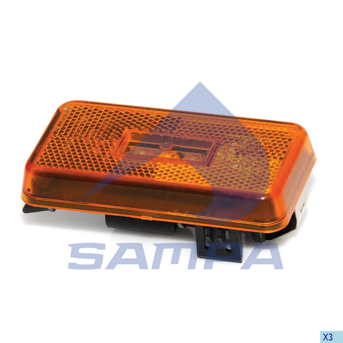 End-Outline Marking Lamp, Scania, Electric System