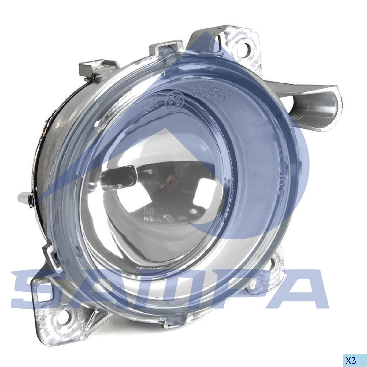 Fog Lamp, Scania, Electric System