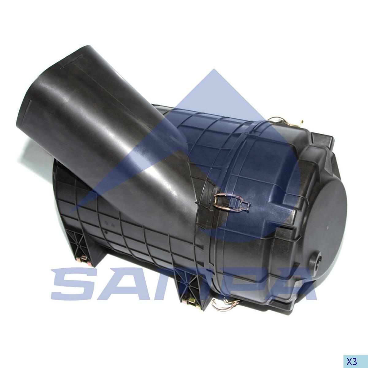 Housing, Air Filter, Scania, Engine