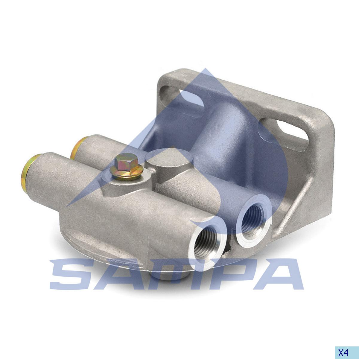 Head, Fuel Filter, Scania, Engine