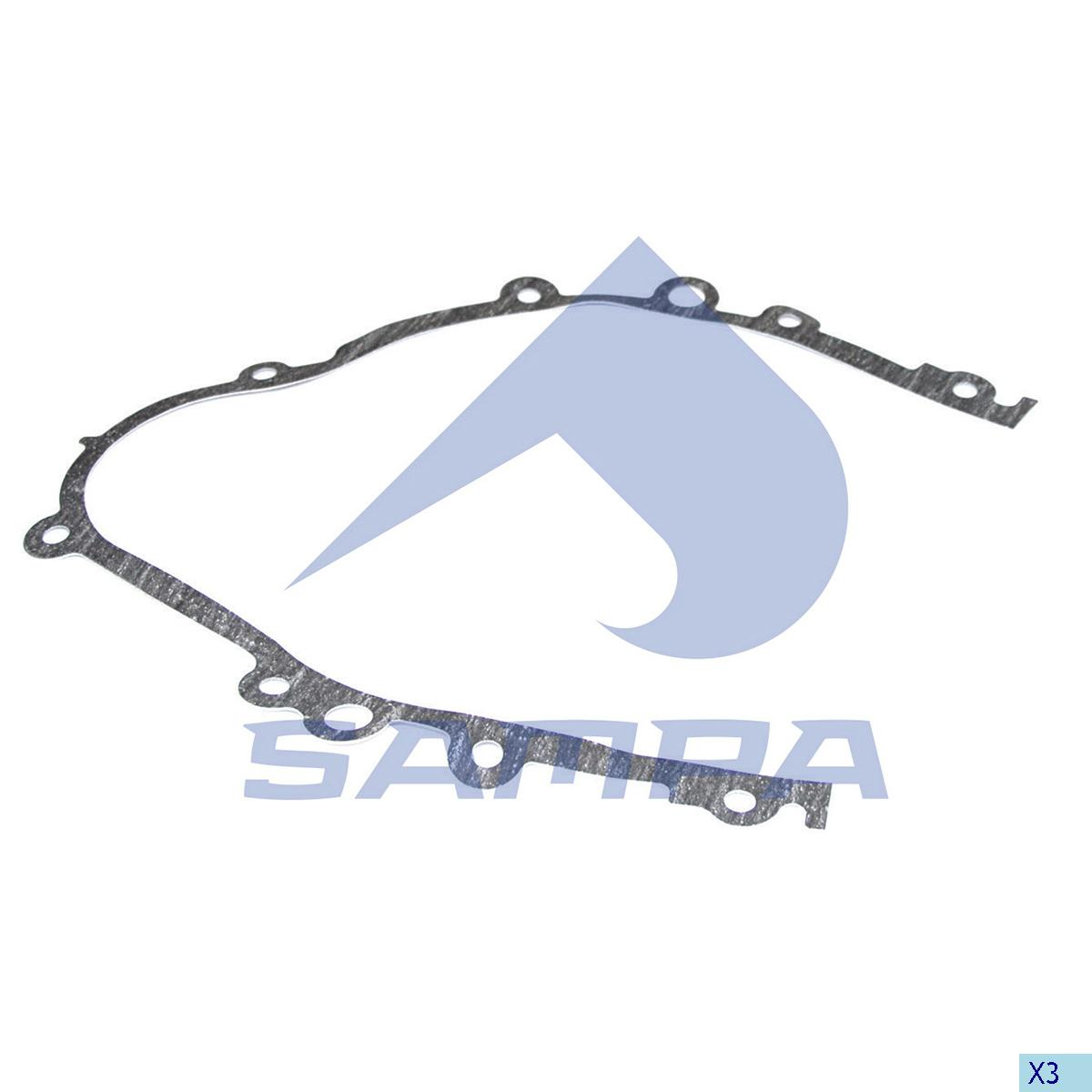 Gasket, Timing Case, Scania, Engine