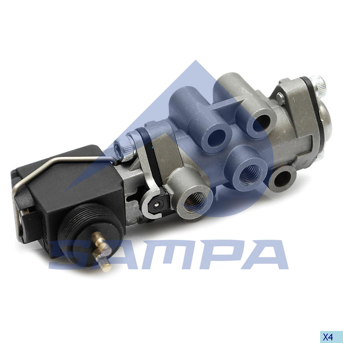 Valve, Gear Box Housing, Scania, Gear Box