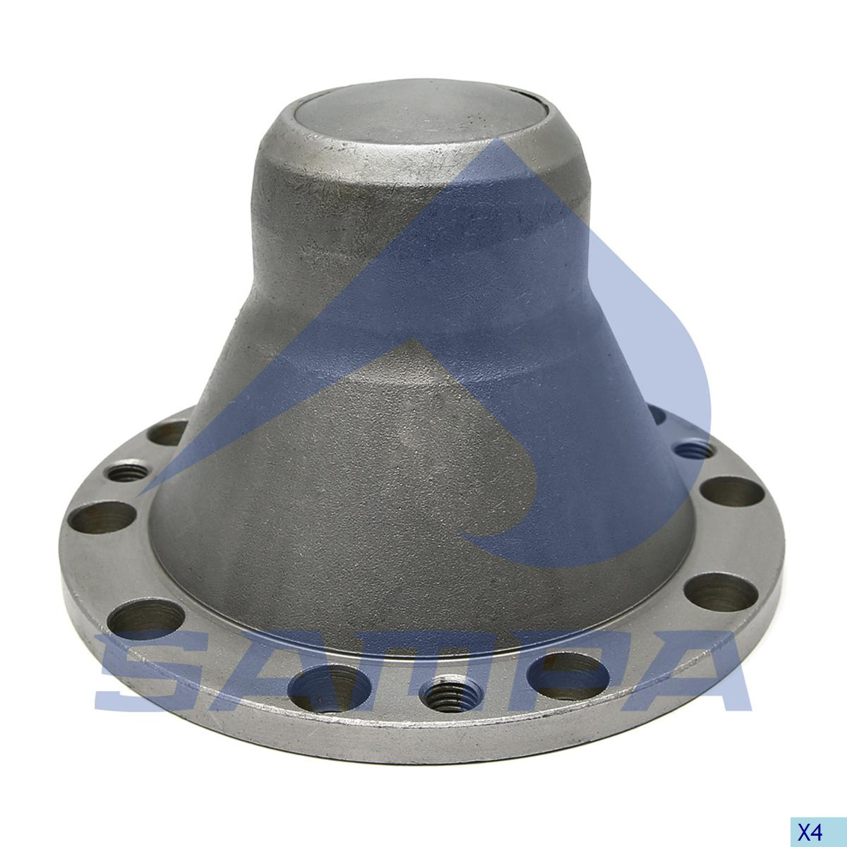 Flange, Wheel Hub, Scania, Power Unit