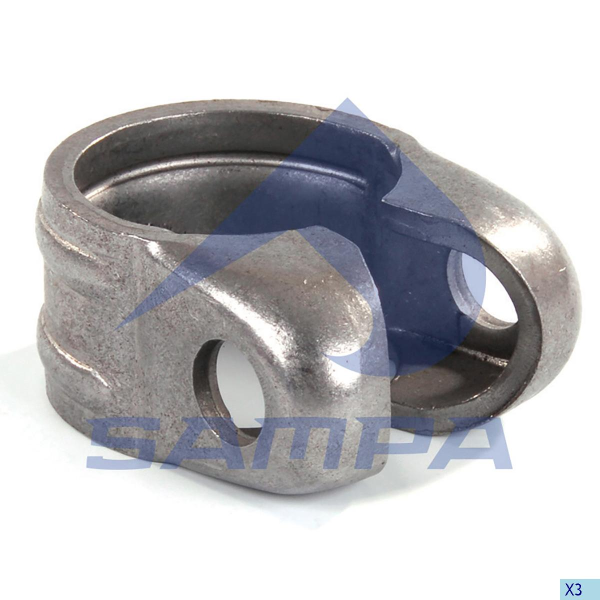 Clamp, Drag Link, Iveco, Steering