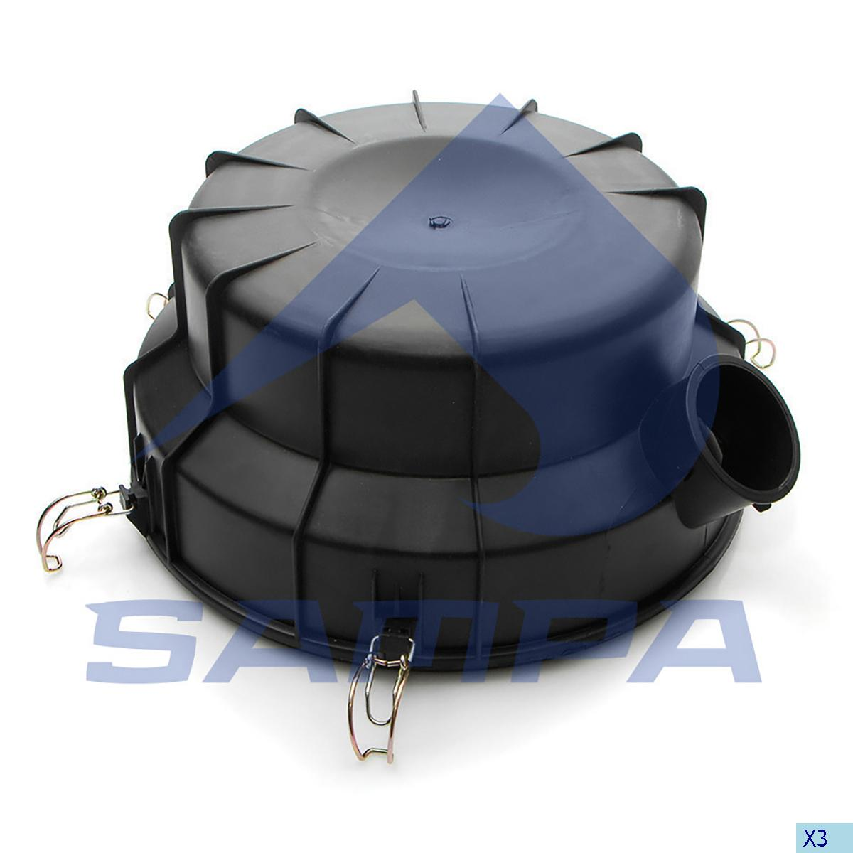 Cover, Air Filter, Scania, Engine