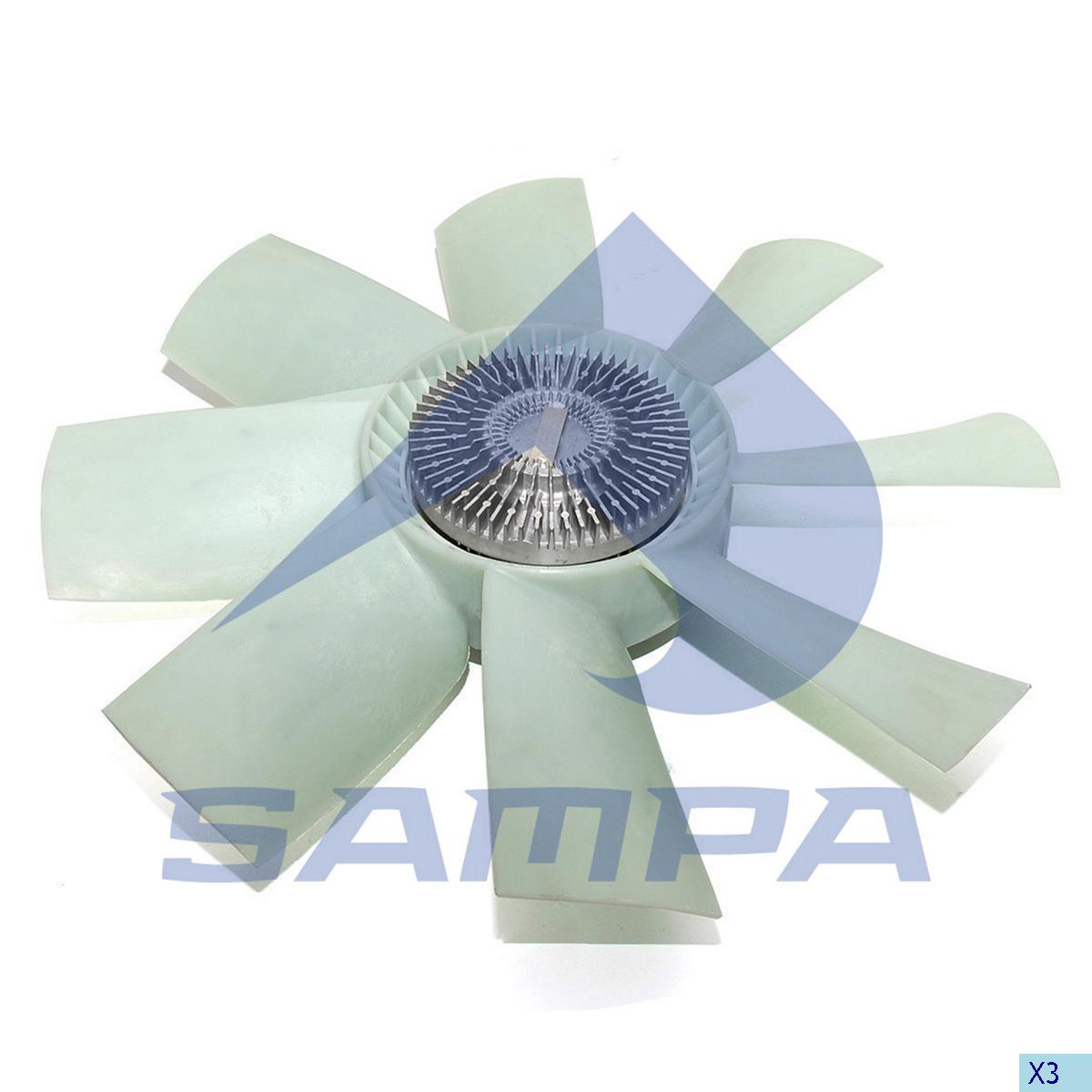 Visco Fan, Scania, Engine
