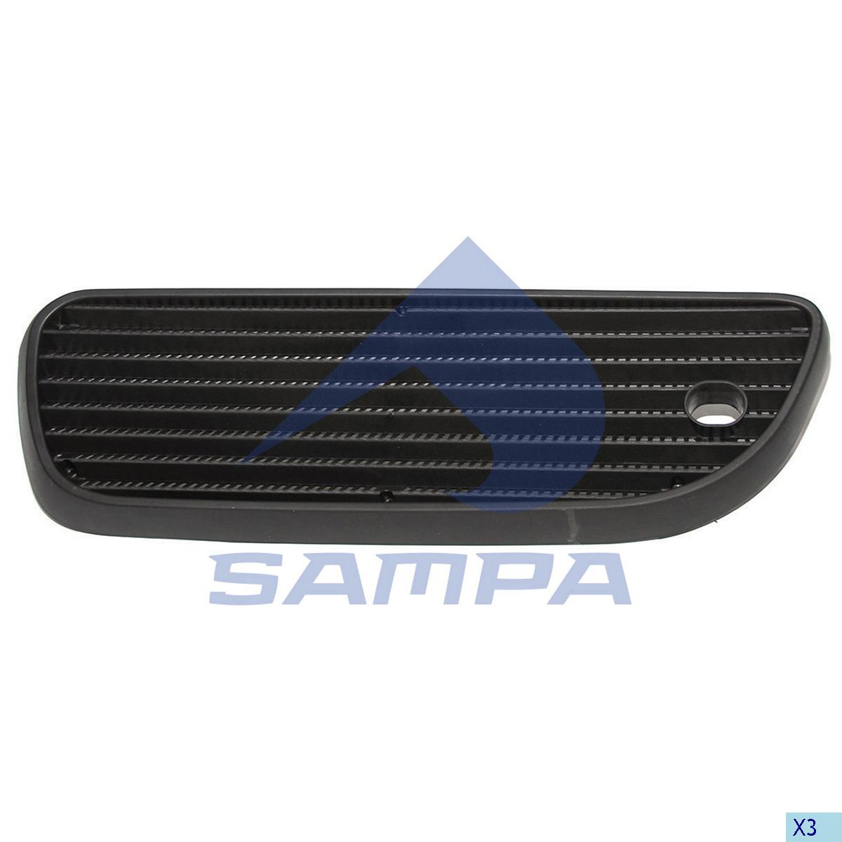Grille, Air Filter, Scania, Engine