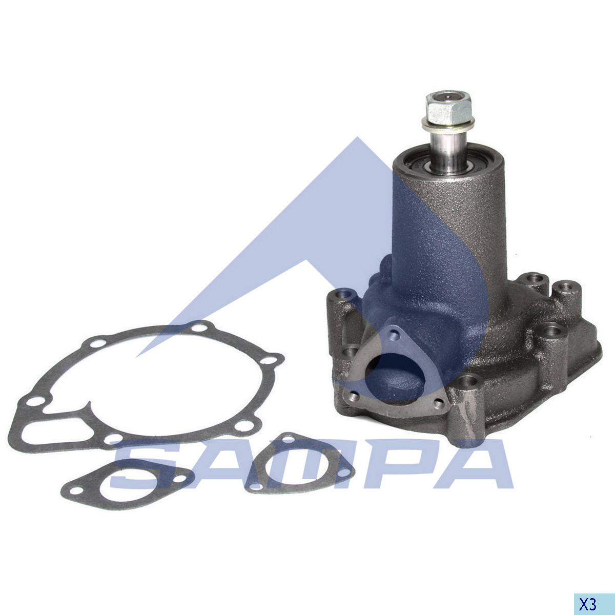 Water Pump, Scania, Engine