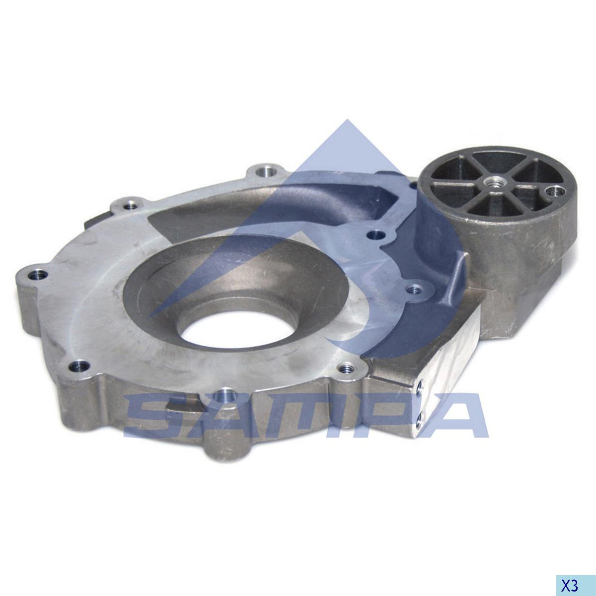 Housing, Water Pump, Scania, Engine