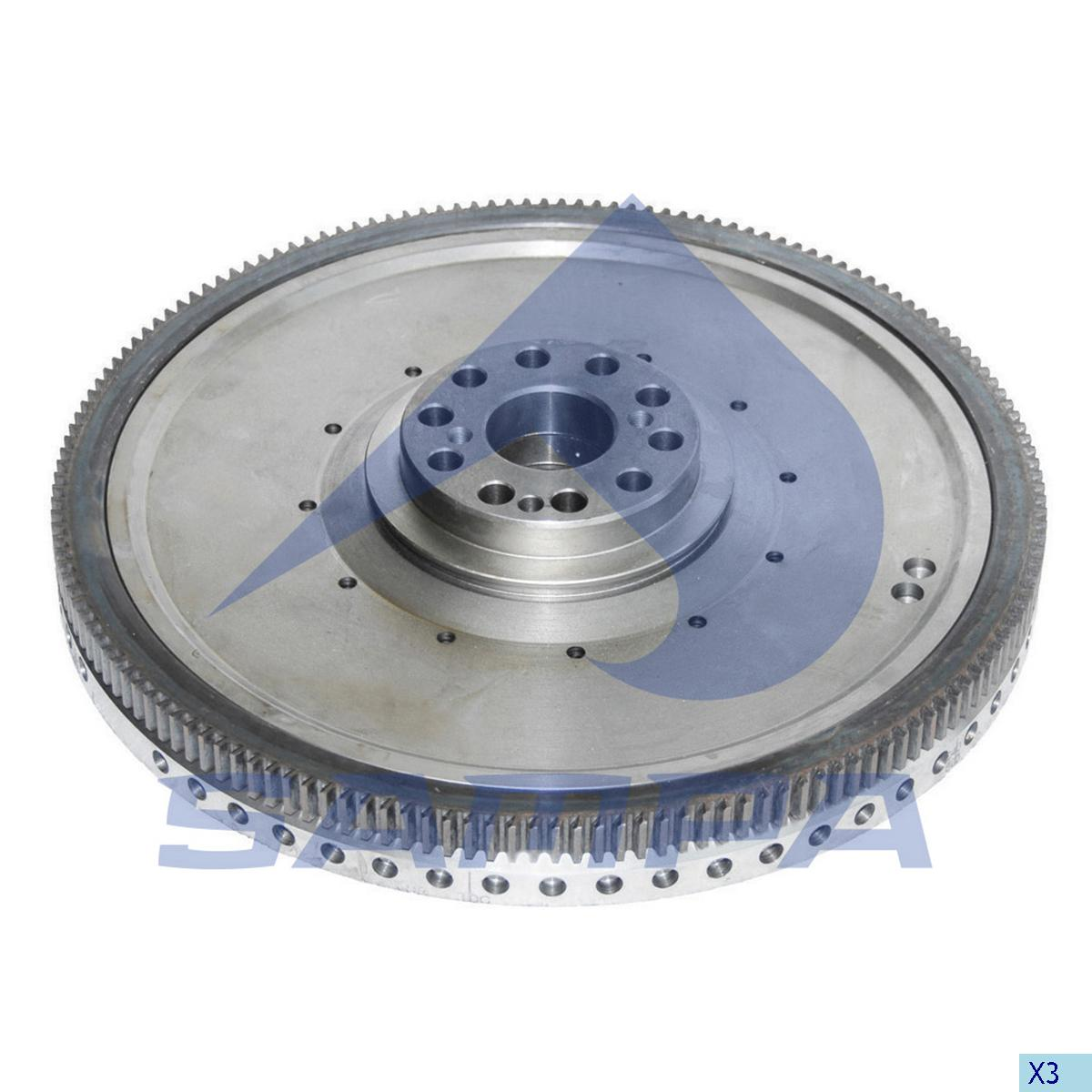 Flywheel, Scania, Engine