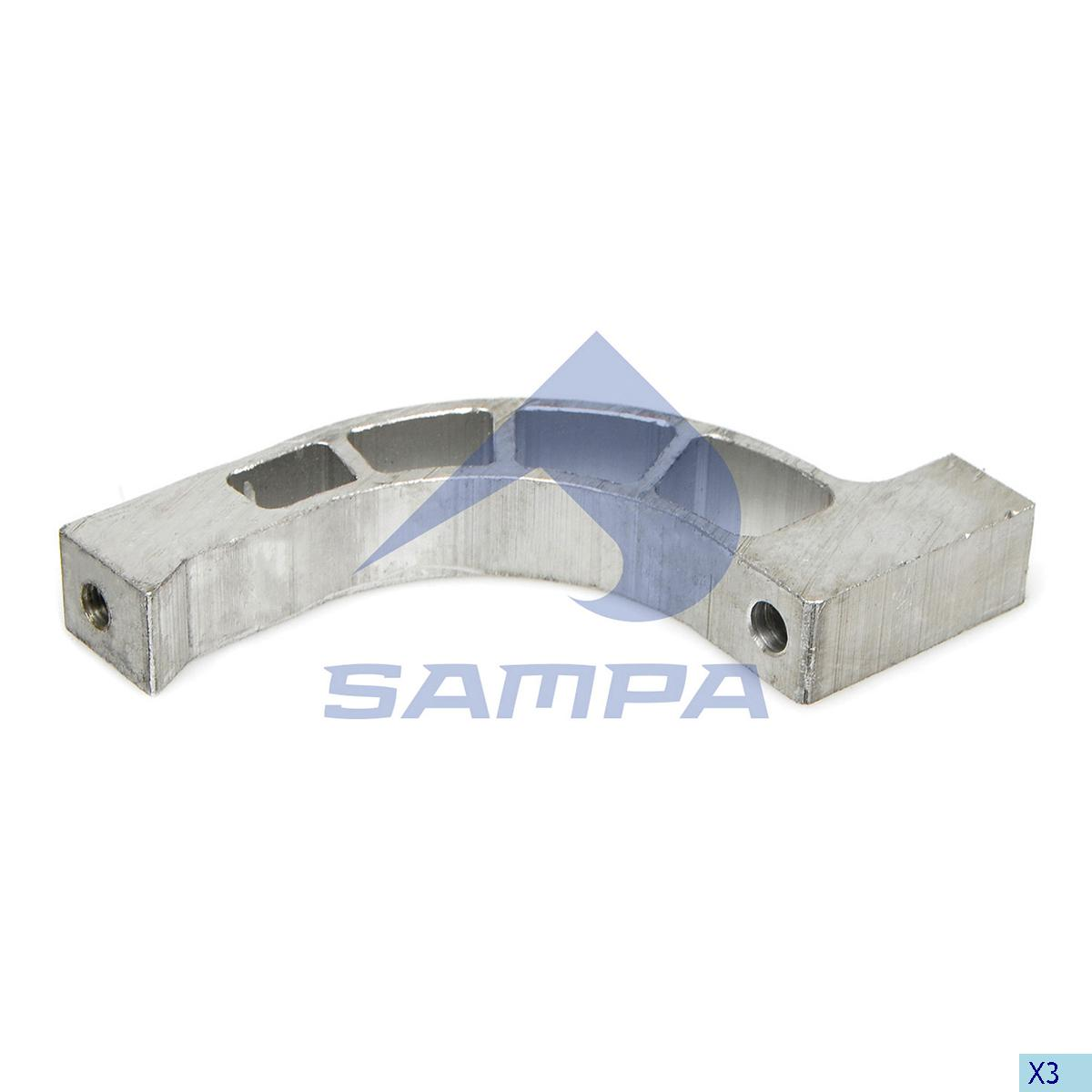 Bracket, Fan, Scania, Engine