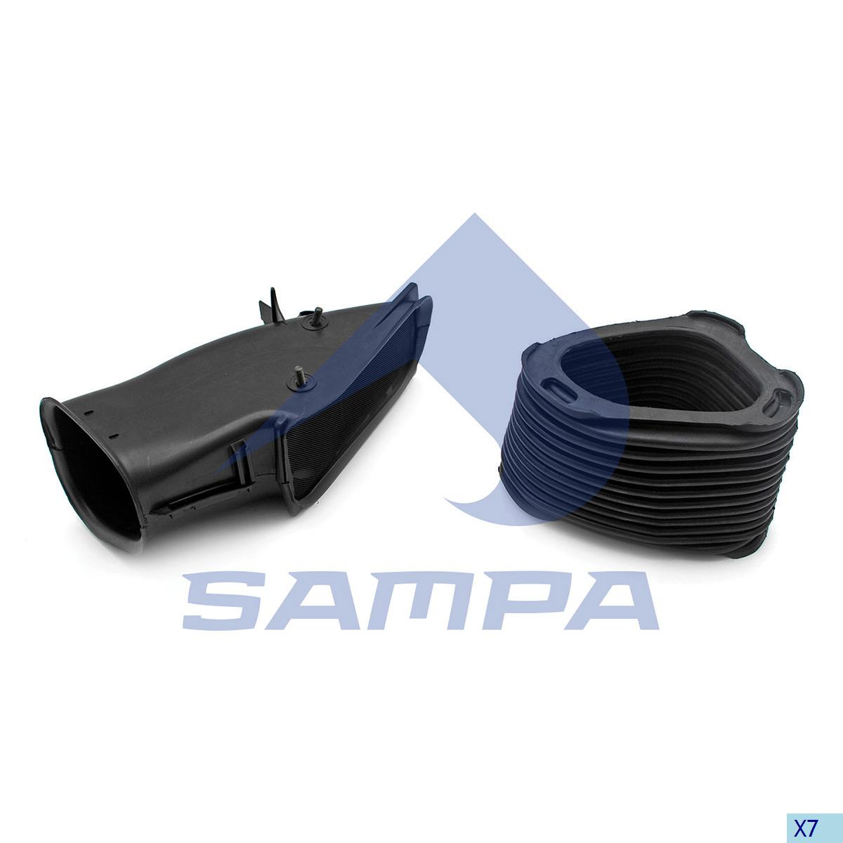 Pipe, Air Filter, Scania, Engine