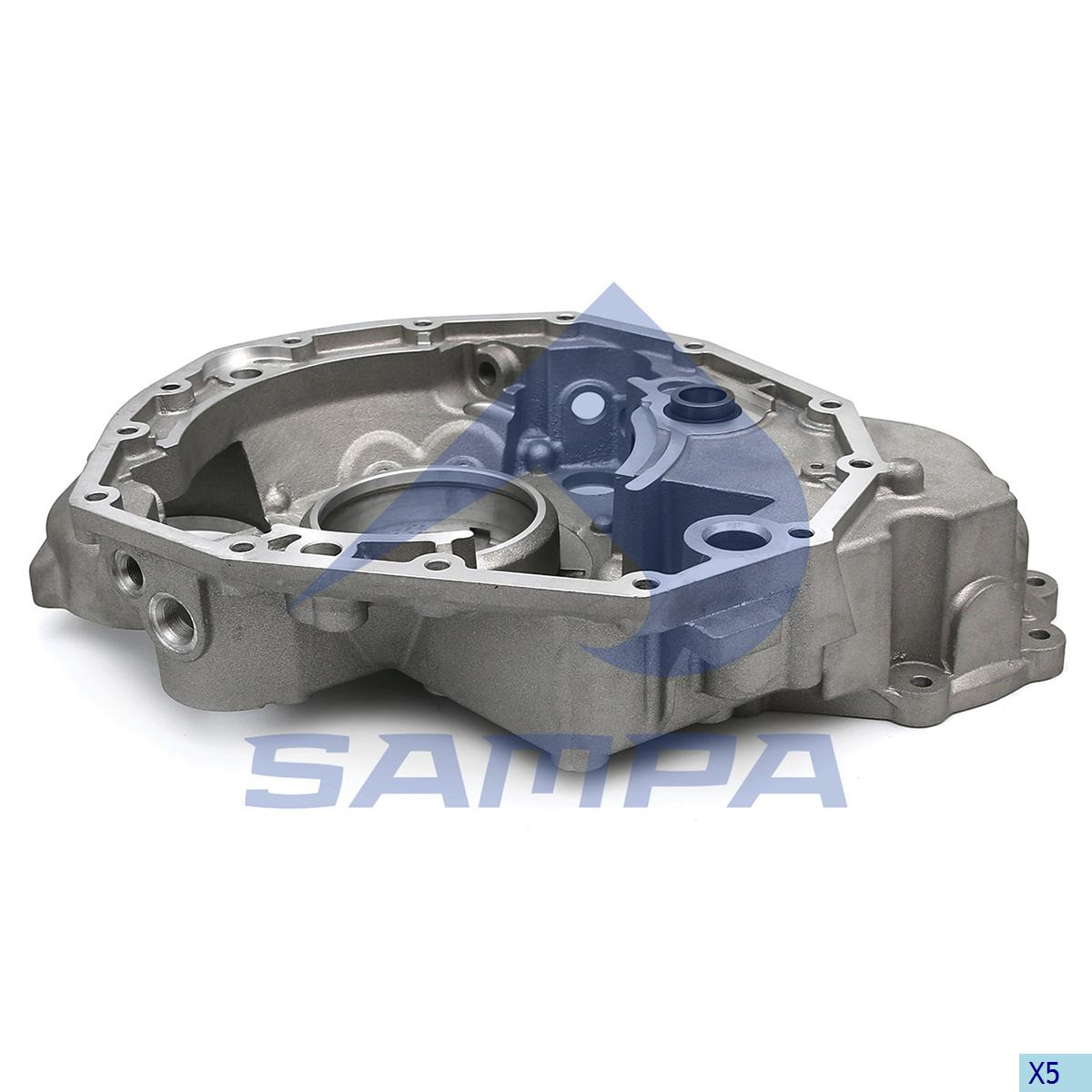 Housing, Flywheel, Scania, Engine