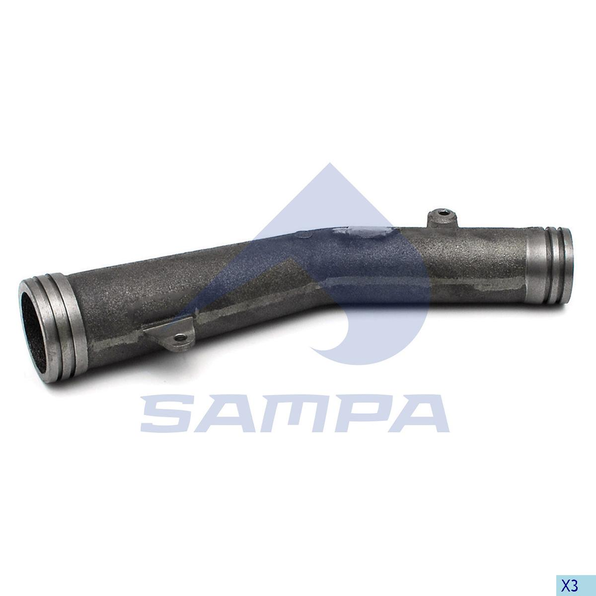 Exhaust Manifold, Scania, Engine