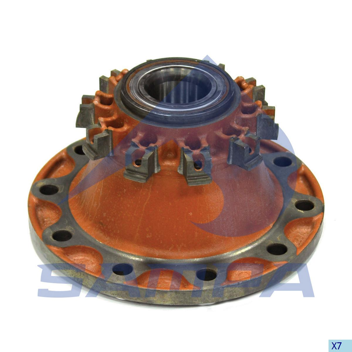 Wheel Hub, Daf, Power Unit