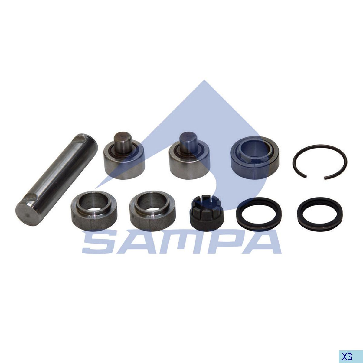 Repair Kit, Clutch Fork, Daf, Clutch