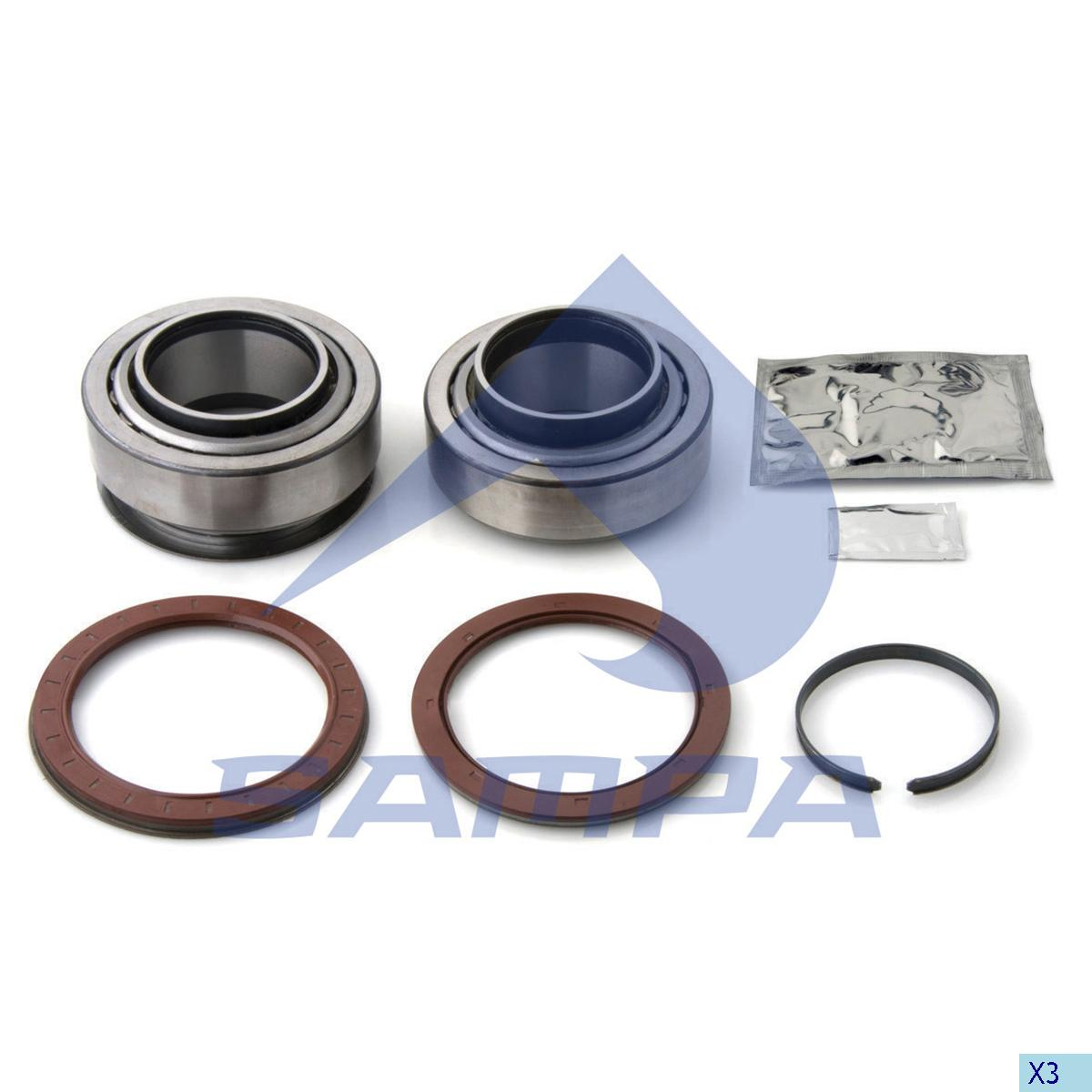 Repair Kit, Wheel Hub, Daf, Power Unit