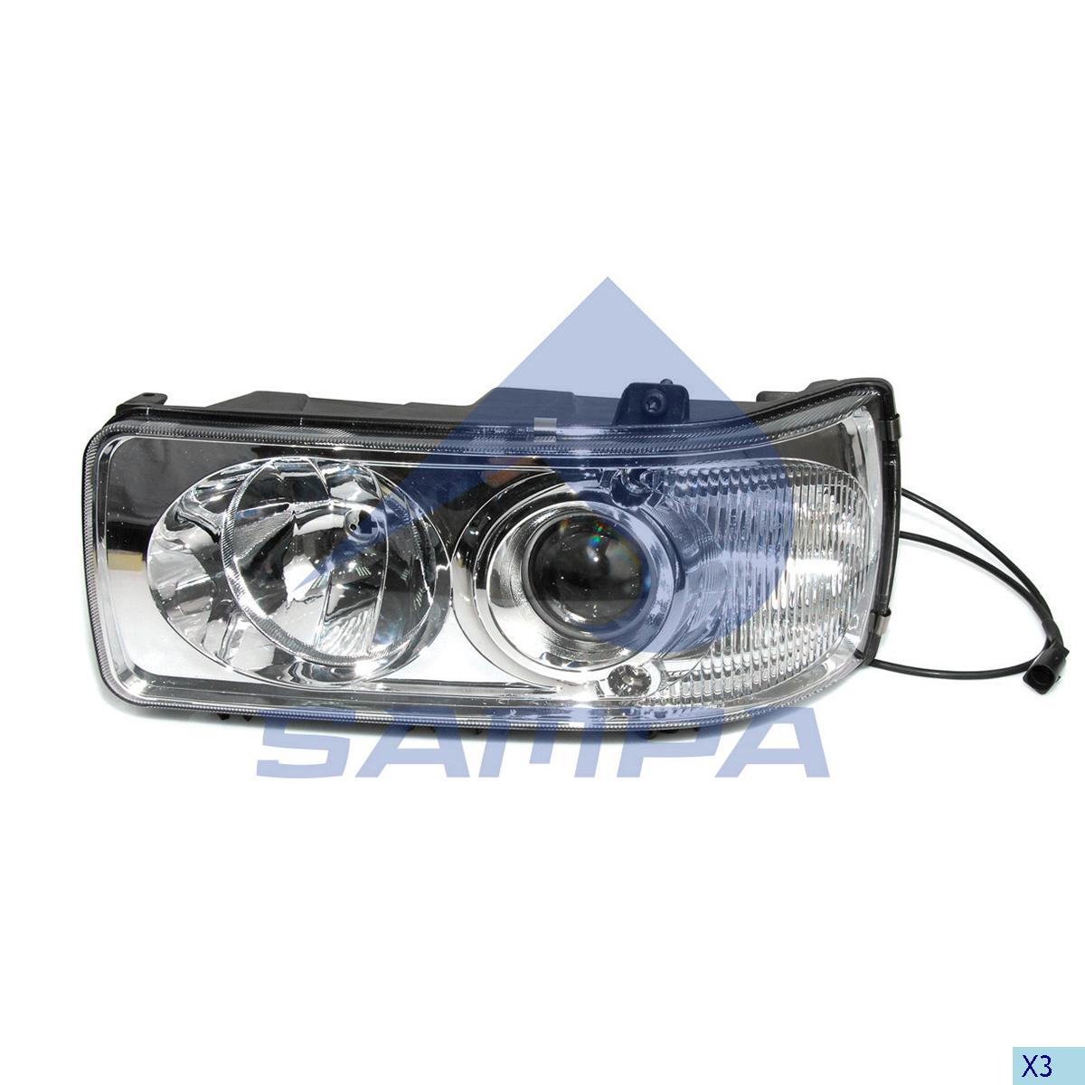 Head Lamp, Daf, Electric System