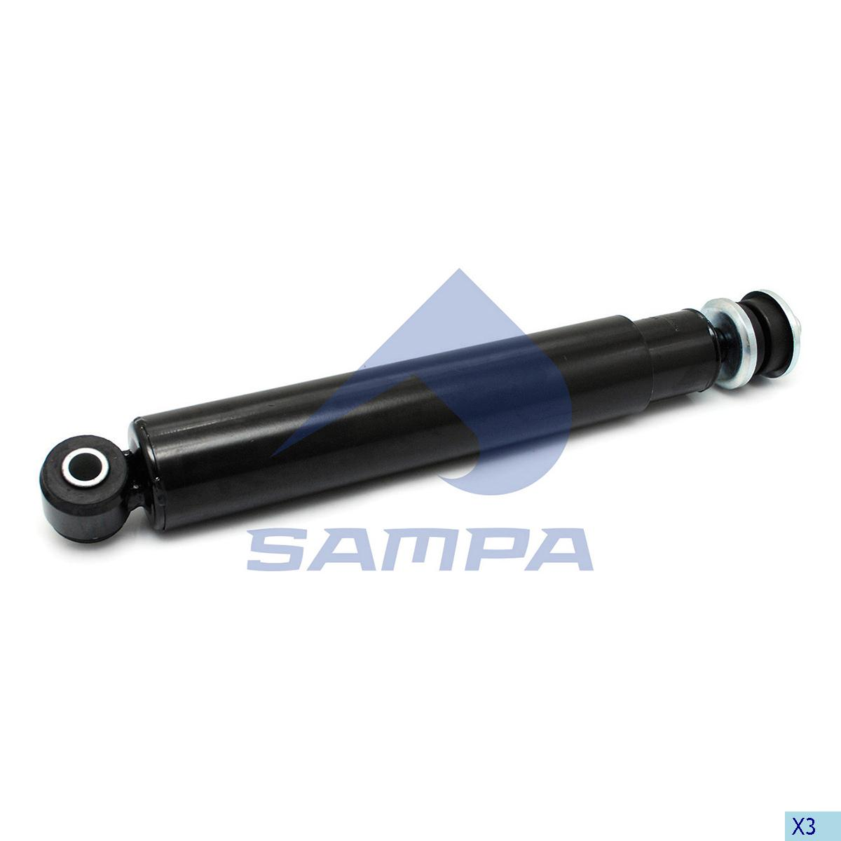Shock Absorber, Daf, Suspension