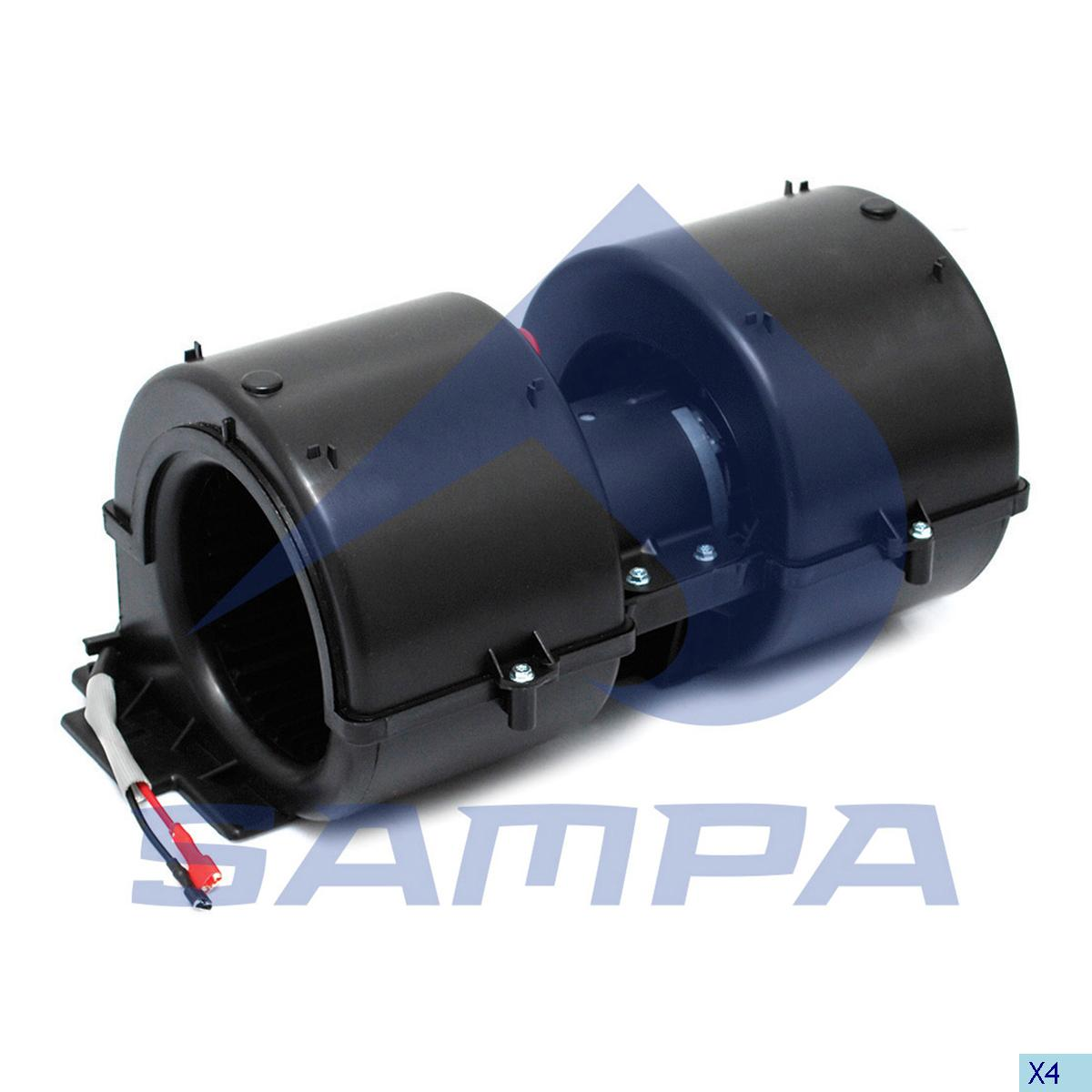 Fan Motor, Cab Heating & Ventilation, Daf, Cab