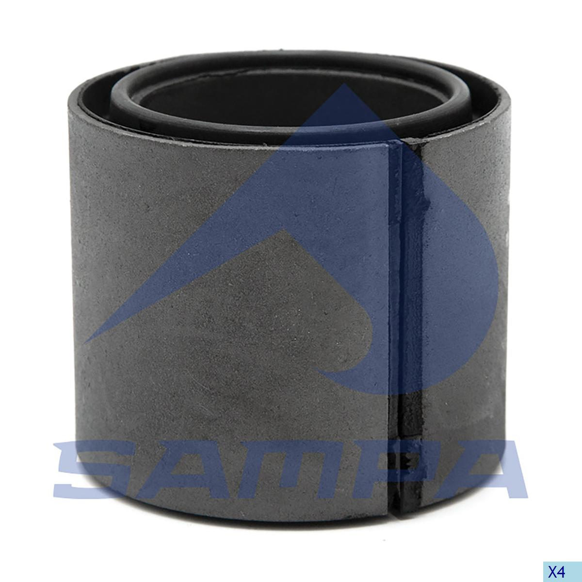 Rubber Bushing, Cab, Iveco, Cab