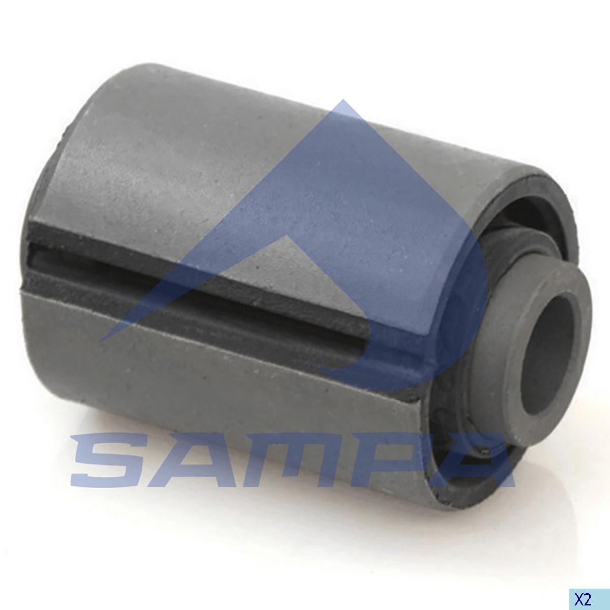 Rubber Bushing, Spring, Iveco, Suspension