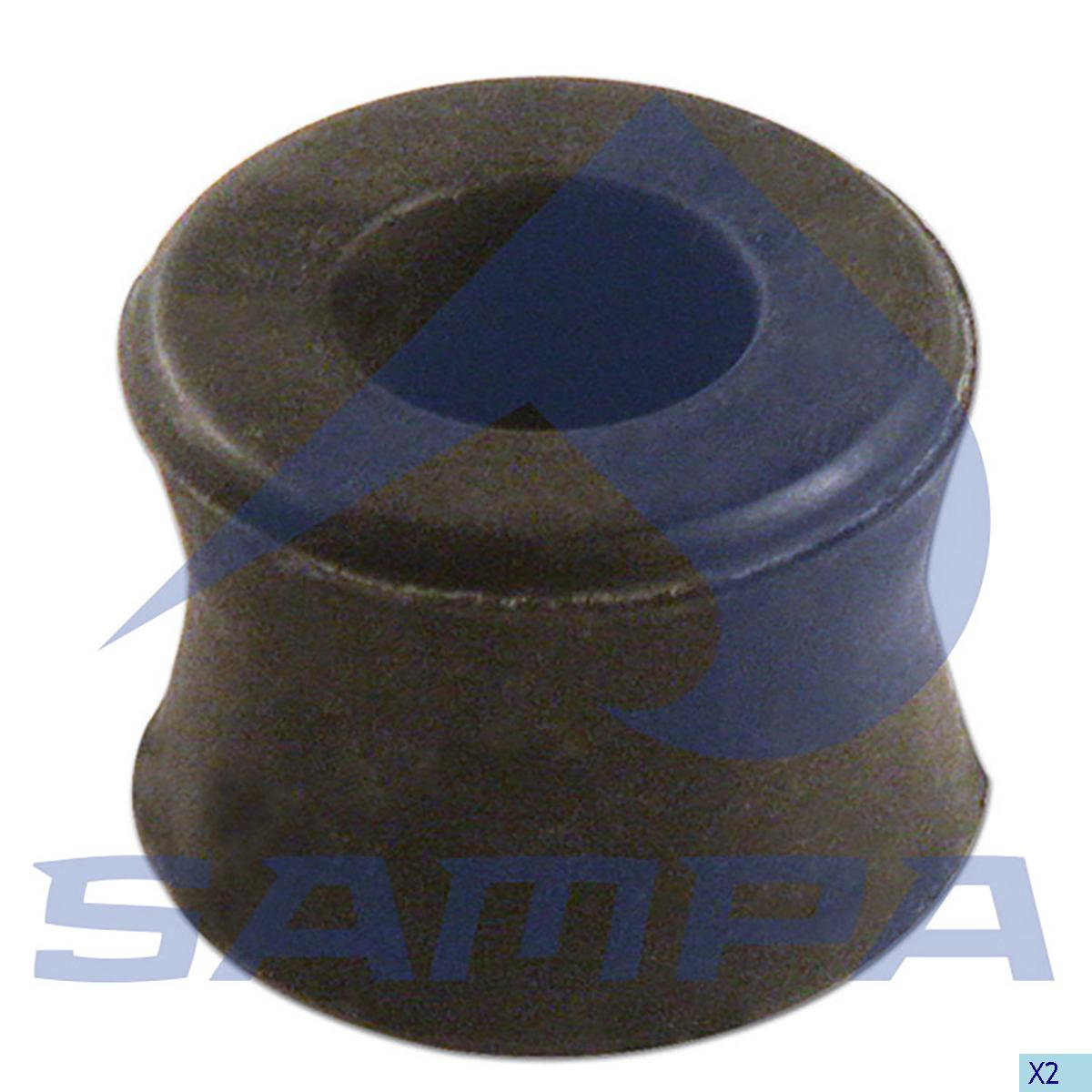 Rubber Bushing, Shock Absorber, Iveco, Suspension