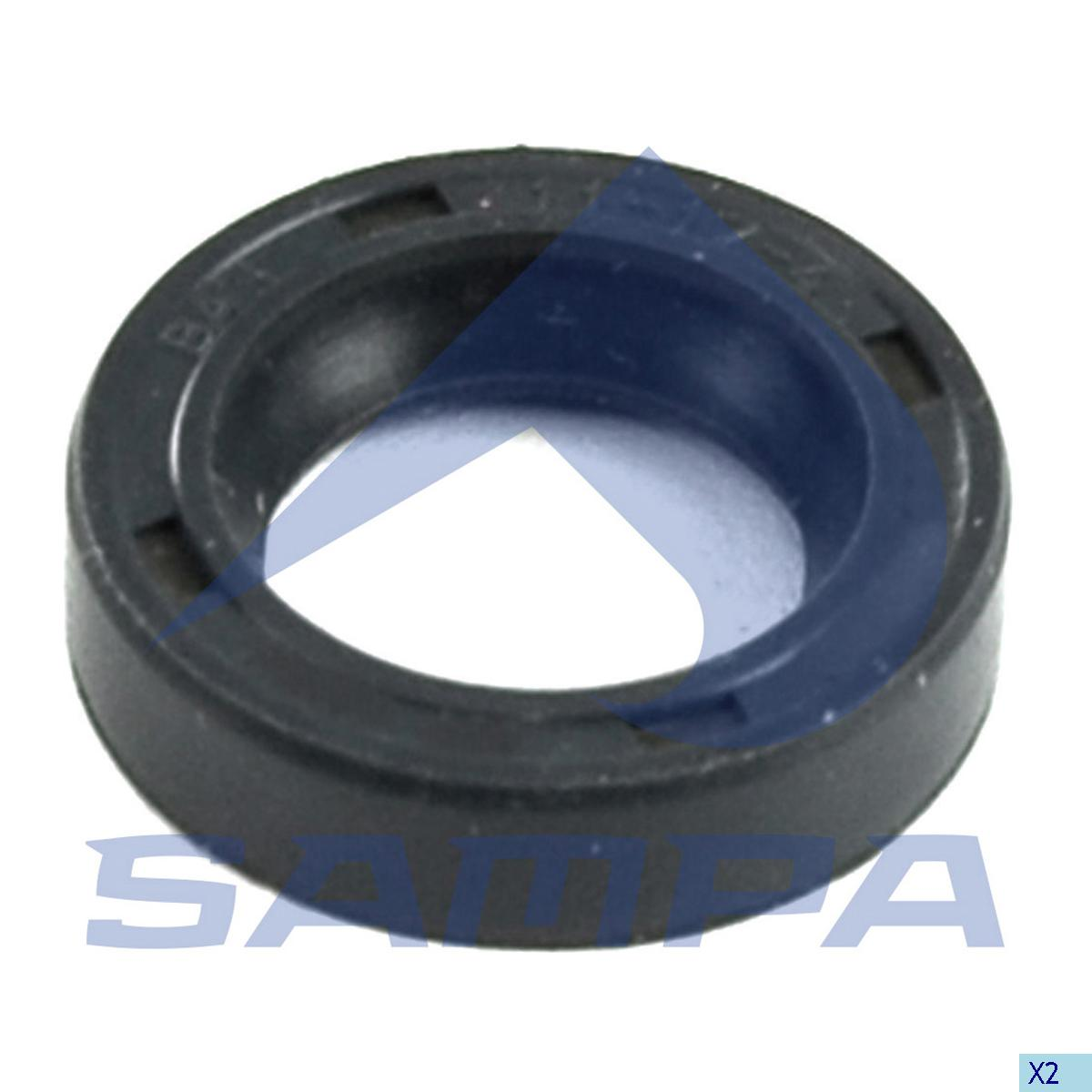 Seal Ring, Injection Pump, Iveco, Engine